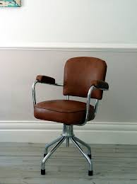vintage office chair. French Vintage Leather Office Chair By OrmstonSaintUK