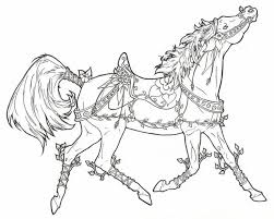 Small Picture coloring pages on Pinterest Carousel Horses Horse Coloring