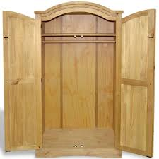 woods used for furniture. Solid Wood Wardrobe With 2 Doors 1 Shelf Bedroom Furniture For Widely Used Cheap Woods
