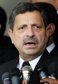 Lahore: The chief election commissioner of Pakistan Tehreek-e-Insaf, Hamid Khan, in his press conference held today at the Central media Cell Lahore, ... - hamid-khan