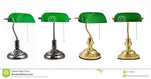 blue table lamps bedroom vintage green lamp glass 1950s