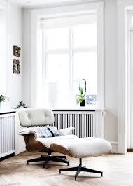 terrific eames lounge chair white pics inspiration