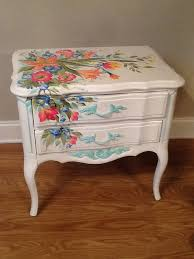 floral painted furniture. painted decoupage furniturerepurposed furniturepainting furniturefloral floral furniture