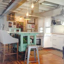 Industrial Kitchen Flooring Kitchen Style Modern Industrial Kitchen Design Brick Wall