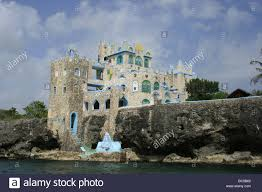 Hotel Castle Blue The Blue Cave Castle Hotel Perched On The Cliffs Of Negril