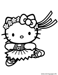Pypus is now on the social networks, follow him and get latest free coloring pages and much more. Print Cute Hello Kitty Ballet Coloring Pages Hello Kitty Colouring Pages Hello Kitty Coloring Kitty Coloring