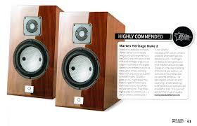 Marten Design Duke 2 Marten Speakers Reviews