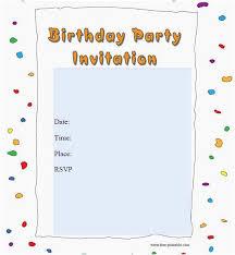 Editable Birthday Invitations Templates Free Unique 50 Printable