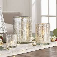 bubbled silver glass tea light candle holder reviews crate and barrel