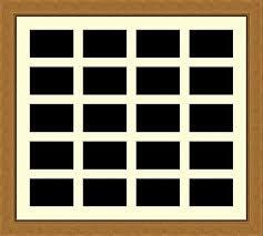 multi aperture frame 20 apertures