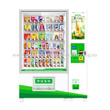 Fruit Vending Machine For Sale Delectable China Vending Machine From Changde Manufacturer Hunan TCN Vending