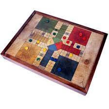 Wooden Ludo Board Game Parchís Ludo Game handmade in woodpresent 26