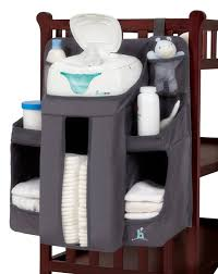 hiccapop Nursery Organizer and Baby Diaper Caddy | Hanging Diaper  Organization Storage for Baby Essentials |