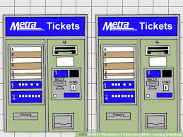 Purchase Vending Machines Inspiration How To Purchase A Ticket Using Metra Vending Machines 48 Steps