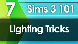 Invisible Lights Sims 3 Sims 3 101 Lighting Tricks
