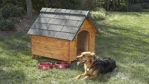 Completely Free Dog House Plans   Puppy LeaksDog house plans via Lowes