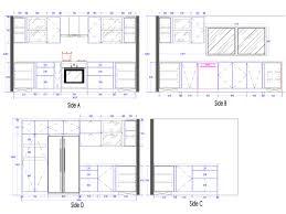 3d Kitchen Cabinets Interior4you Floor Plan Revit Surprising Revit