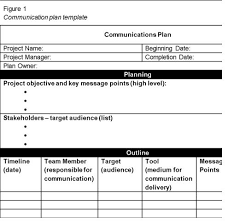Get Project Communication Plan Template Spreadsheet – Excel ...