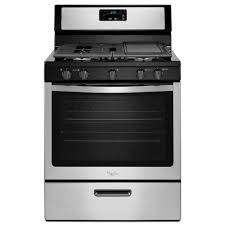 gas range. Gas Range In Stainless Steel