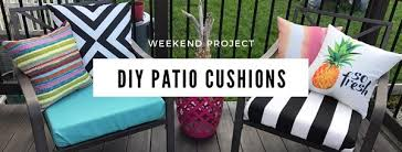 diy no sew patio cushions fast and