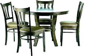 glass dining table set 4 chairs round dining table set for 4 round dining table set
