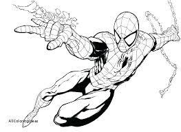 spiderman coloring pages printable free printable