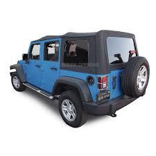 2010 2018 4 door jk replacement soft top