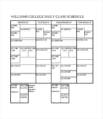Class Schedule Excel Template Download College Course Schedule Template Sakusaku Co
