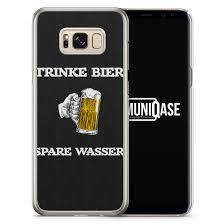 Trinke Bier Spare Wasser Handyhülle Für Dein Samsung Galaxy S8