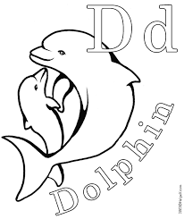Small Picture Baby Dolphin Coloring Pages Coloring Page For Kids Kids Coloring