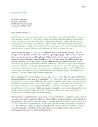 Neoteric Ideas Portfolio Cover Letter 16 Sample For English Cv