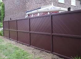 brown vinyl fence panels. Brown Vinyl Fence Panels B