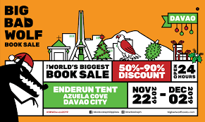 Graphic Design School In Davao The Big Bad Wolf Book Sale Returns To Davao Davaobase