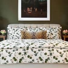 biscuit home bloomsbury duvet green