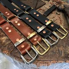 drifta made leather belts