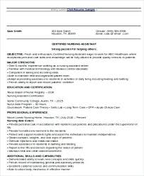 Objective For Resume For Nursing Nursing Objective For Resumes