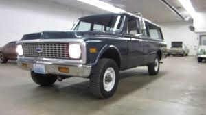SUPER SOLID !! ** 1972 3/4 TON CHEVY SUBURBAN 4X4 ** SOLD !! - YouTube
