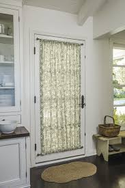Kitchen Drapery Rod Pocket Top Bottom In 16358 Cora Olive Door Kitchen