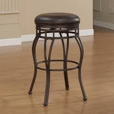 backless swivel counter stools. Taupe Grey Backless Swivel Counter Stool Stools O