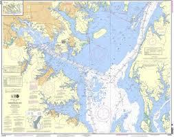 Chesapeake Bay Chart Book Noaa Chart 12278 Chesapeake Bay Approaches To Baltimore Harbor