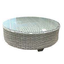 round wicker coffee table with storage side tables round wicker side table medium size of coffee