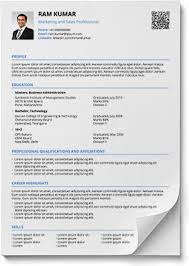 Professional Resume Format In Word Resume Formats In Word And Pdf