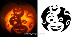 Pumpkin Carving Pattern Classy Free Halloween Pumpkin Carving Patterns Thevillasco