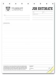 construction bid sheet template contractor bid forms free blank job estimate form template