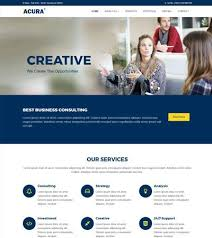 Bootstrap Website Templates New Acura Business Bootstrap Website Template WebThemez