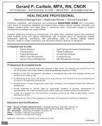 Excellet Sample Writing Summary Statements Registered Nurse Resume