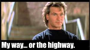 Roadhouse Quotes Magnificent 48s Quotes On Twitter ROAD HOUSE Dalton My Way Or The Highway