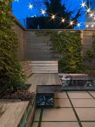 philadelphia bench dog router table with transitional outdoor string lights patio contemporary and wire fence concrete