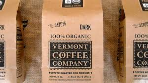 Free shipping on orders over customer review: Vermont Coffee Company Dieline Design Branding Packaging Inspiration