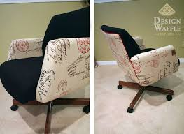 office chair makeover. DIY Office Chair Makeover